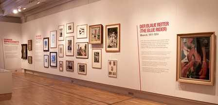 German Expressionism Gallery at New Walk Museum & Art Gallery (web)